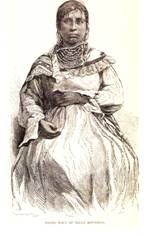 1830's Seminole Woman